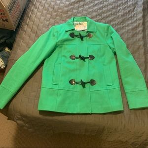 Banana republic green coat